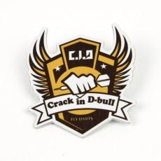 알루미늄뱃지 crack in d-bull